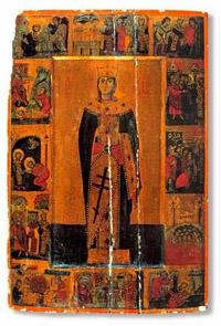 Icon from the monastery of St Catherine