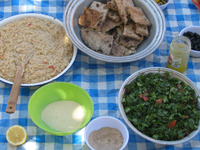 Healthy Bedouin food