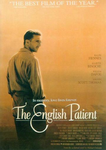 Film Poster for the English Patient