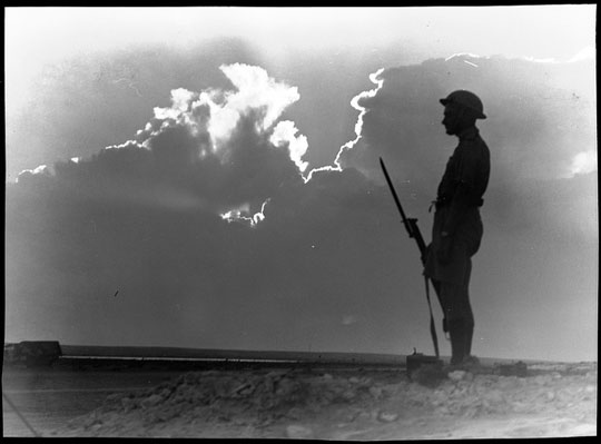Frank Hurley Alamein