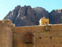 Mount Sinai and the monastery of St Catherine