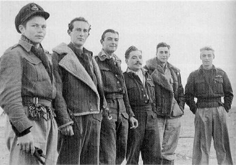 Members of 620 Squadron