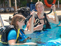 Camel Dive Club dive courses