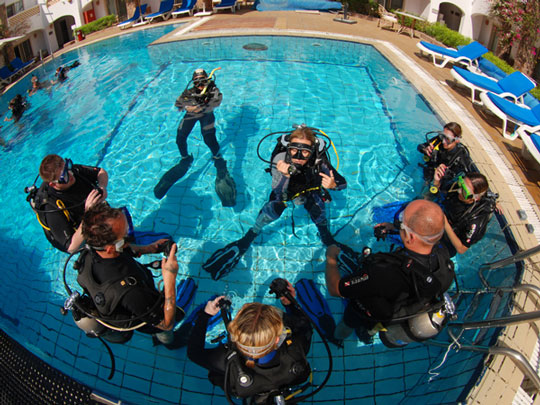 Wilderness Ventures Egypt Red Sea diving courses