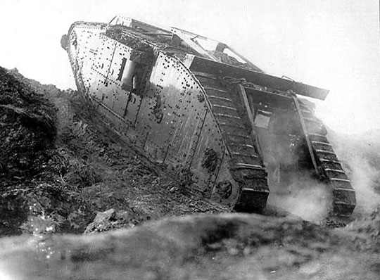 First world war tank