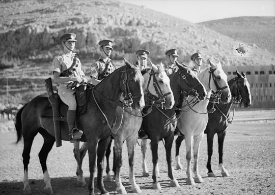 Scots Greys in Palestine