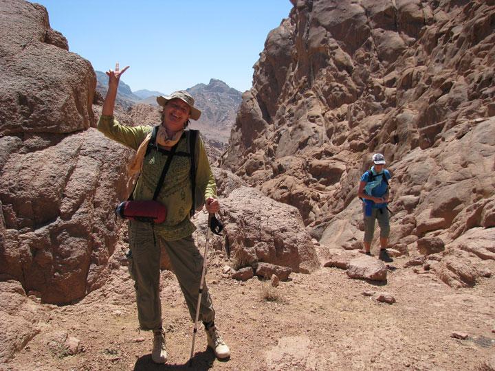 Mountain Trekking Sinai Wilderness Ventures Egypt